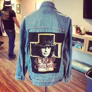 Vintage 80 authentic Ozzy jacket